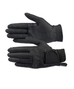 Eleanor breathable PU leather horse riding gloves with great grip