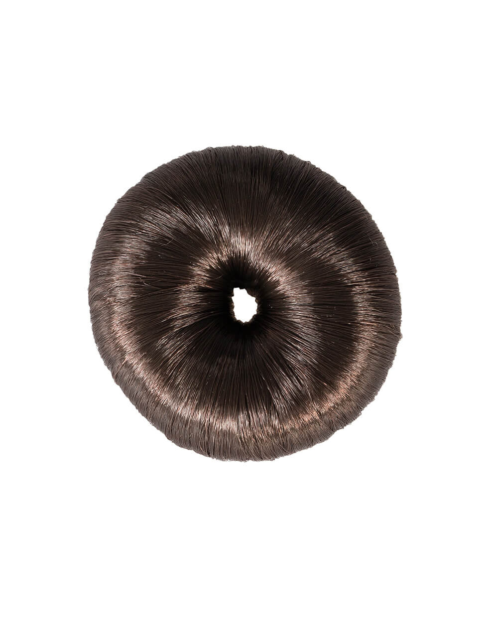Plastic blend hair donut to make perfect hairbuns