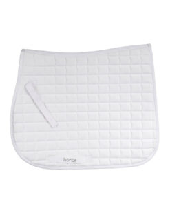 Large cut quilted thin soft allround horse riding numnah
