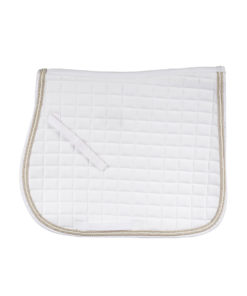 Horze quilted moisture wicking general purpose allround numnah with triple cord finish