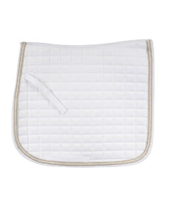 Horze quilted moisture wicking Dressage numnah with triple cord finish