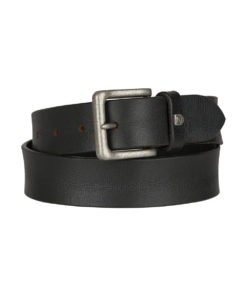 Montana Wide Genuine Wide Leather Belt with metal buckle